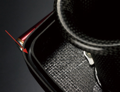 Sports Injection - Dry Carbon Surge Tank - O-ring sealing