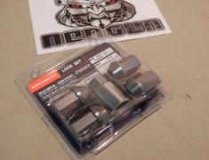 Standard - Gun Metallic  Lock Nut Se