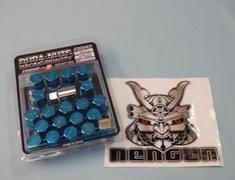Standard - Blue - M12x1.5 - 16+4 Set
