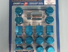 Short - Blue - M12x1.5 - 12+4 Set