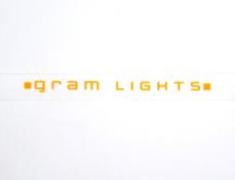 Gram Lights - Orange Replacement Sticker