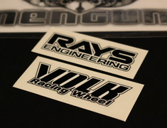 RAYS - Volk Racing TE37 Replacement Rim Sticker