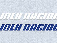 Volk Racing Sticker - Wide 400mm x 20mm - Blue or White