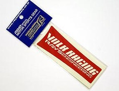 Volk Racing TE37SL Repair Spoke Sticker RED