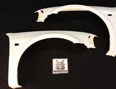 Lancer Evolution V - CP9A - Front Fenders Front Fenders - 25mm Wide - 1 Set - Mitsubishi Evo V/VI