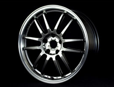 Ray's Engineering - 57 Ultimate - Shining Silver rim Diamond Cut