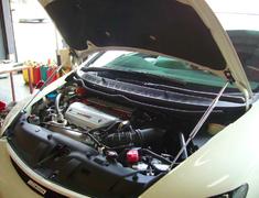 Skyline - R34 GTR - BNR34 - Technia Sports - Bonnet Damper - BNR34 - Carbon Bonnet Use Only