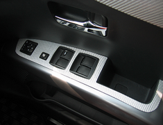 Hasepro - Magical Carbon - Outlander - Door Switch Panel