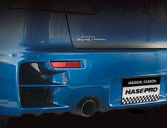 Hasepro - Aero - Evo X - Rear Bumper