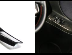 Superior Auto Creative - Carbon Door Switch Panel