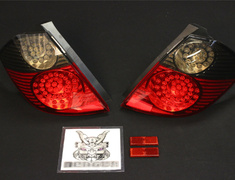 Fit - GE8 - ST5GES - Honda - Fit - GE6-9 - Red & Smoked Type
