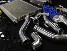 RX-7 - FD3S - Full Kit with Intercooler & Radiator - Height: 266 - Length: 400 - Thickness: 100 - 12040701
