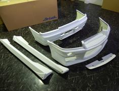 Skyline GT-R - BNR34 - Front Bumper, Rear Bumper & Side Diffusers - Construction: FRP - Colour: Unpainted - BNR34 3P Kit