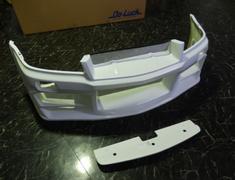 Skyline GT-R - BNR34 - Construction: FRP - Colour: Unpainted - Front Bumper Spoiler