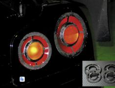 Skyline GT-R - BNR34 - Construction: Carbon - Carbon Tail Lens Cover