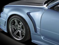 Skyline GT-R - BNR34 - Construction: FRP - Colour: Unpainted - Front Aero Fender