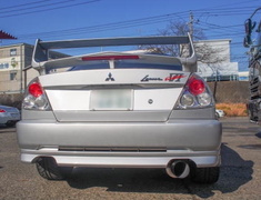 Lancer Evolution IV - CN9A - Material: Titanium - Pipe Size: 90mm - Tail Size: 115mm - Weight: 4.7kg - Tail Type: Right Exit - UL-STM-CNP9A
