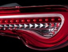 TT86Z-HC-1  Half Red Chrome