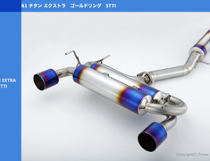 Amuse Titan extra Gold Ring STTI A Body B Tail With gold Ring - Cut tip (With OP 8,000 Yen)