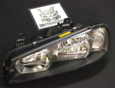 Skyline - R34 GTR - BNR34 - Headlight Housing LH - Includes A, B and C only - 26075 - 26075-AB160
