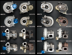 Tomei - ARMS SR M8270/M7960 Turbine Kit - Nissan SR20DET