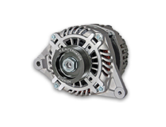 RX-7 - FD3S - Color: Silver - Pulley: Black - Pulley: Red - Output: 130Amp - RFD3-BA13
