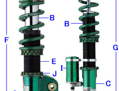 TEIN - Ulimate Spec Circuit Master Super Racing Suspension Kit