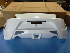 Fairlady Z - 370Z - Z34 - Construction: FRP - Colour: Unpainted - Rear Bumper