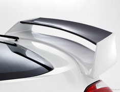 Fairlady Z - 370Z - Z34 - Rear Wing - with High Mount Lamp Attachment - Construction: FRP - Colour: Unpainted - R1T-Z34V-RW