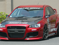 ChargeSpeed - Gekisoku - Wide Body Kit - Evo X
