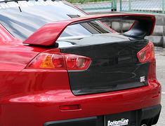 ChargeSpeed - Gekisoku - Evo X - Rear Bumper