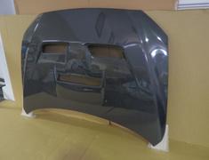 098405c Bonnet - Type-2 - Carbon with Duct