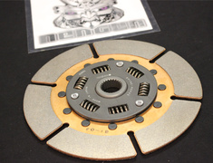 - Nismo - G-Max - Clutch Disk - Quantity 1 - 2 Required - SPEC II - 3002A-RS630/591 3002B-RSR46/596 - 3010C-RS045