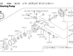 49110 - 49110-24U00 Power Steering Pump ASSY