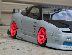 URAS Gang - 180SX Street Ver. RC Aero Kit