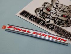 7415A605 Mitsubishi EVO 10 Final Edition Emblem
