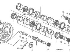 Honda - OEM Parts - Integra Type R - DC5