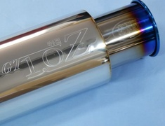Universal - Type: Stainless Steel + Titanium Tail - Diameter: 114.3mm - Tail Diameter: 80mm - Pipe Diameter: 60mm - Length: 403mm - SL.10318C