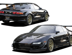 MR2-SW20 NA - Front Bumper/Side Skirts/Rear Side Diffusers - Construction: FRP - 3 Piece Kit