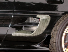 MR2 - SW20 - Side Inlet Covers - Construction: Carbon - AE.SI.SW20-K