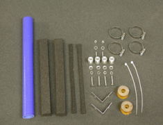 MR2 - SW20 - Radiator Movement Kit: for use with Aero Bonnet - Construction: - - AE.BN.SW-RJ