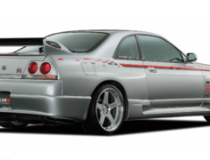 Skyline GT-R - BCNR33 - Rear Bumper - Construction: FRP - Colour: Unpainted - 85050-RS595