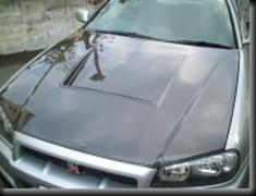 Car Shop F1 - GTR F1 Hood - R34 Carbon
