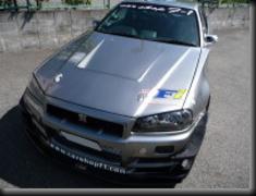 Car Shop F1 - GTR F1 Hood - R34 FRP