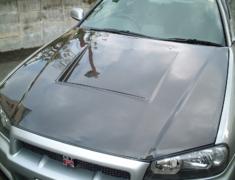 Skyline GT-R - BNR34 - Material: Twill Weave Carbon - BNR34 - Twill