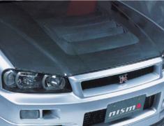 Skyline - R34 GTR - BNR34 - Carbon Bonnet - 65100-RSR45