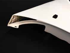 Skyline GT-R - BNR34 - Front Fender Set - Construction: FRP - 63110-RSR46