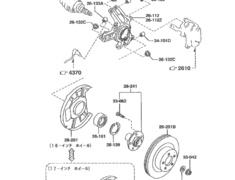 Rear Wheel Hub Assembly