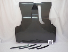 Nissan - Skyline - R34 GTT - ER34 - 4DR Carbon Diffuser + Fitting Bracket Escaped exhaust