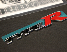 "Civic - Type R - FD2 - Rear ""Type R"" Emblem - Category: Body - 75723-SNW-003"